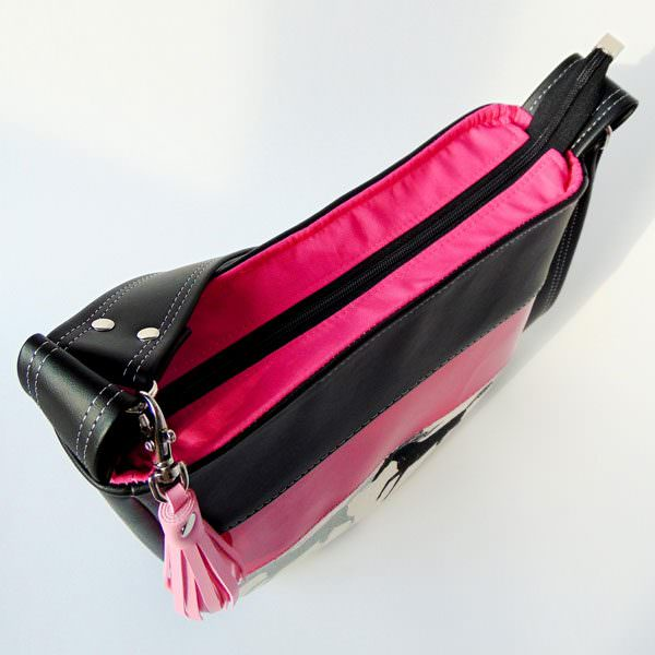 And of course a pink top zipper too! Summertime Sling - Andrie Designs