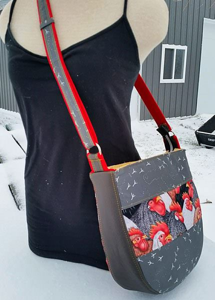 The large is a great size for an adult! Summertime Sling - Andrie Designs