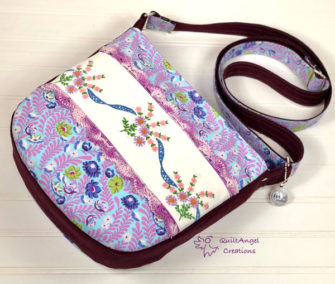 Beautiful floral and embroidered Summertime Sling - Andrie Designs