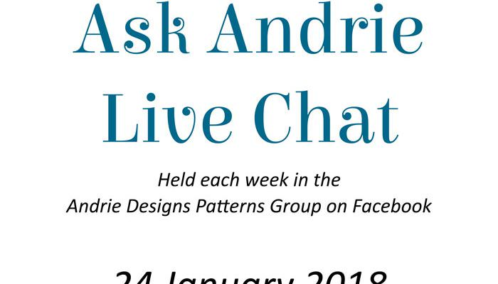 Ask Andrie Live Chat – 24 January 2018