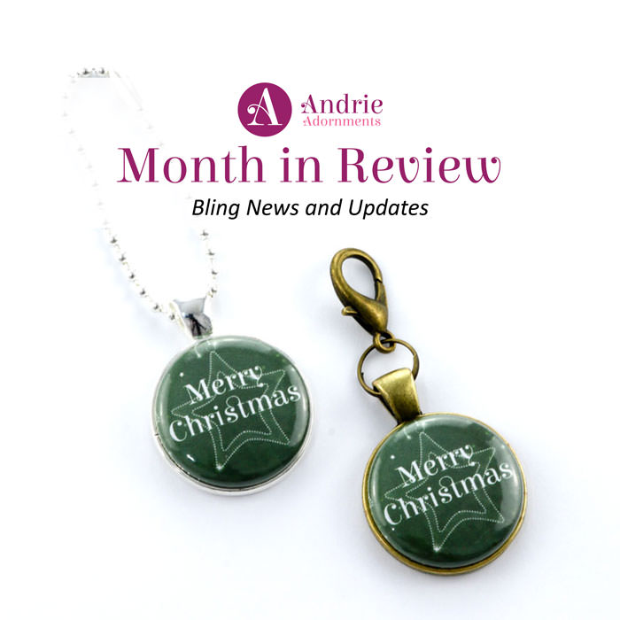Andrie Adornments Month in Review - December 2017