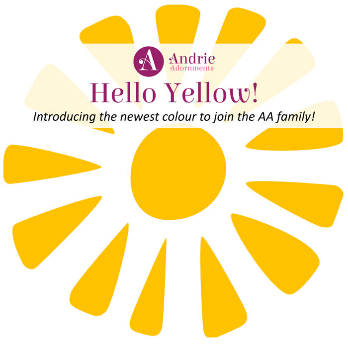 Hello Yellow - Andrie Adornments