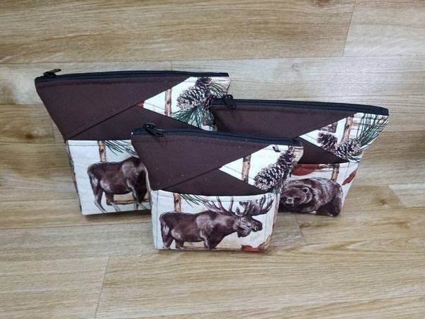 Cindy's Stand Up Clutches - Customer Creations - Andrie Designs