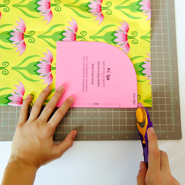Cut pattern pieces out of card stock - Tips for Better Bag Making - Andrie Designs
