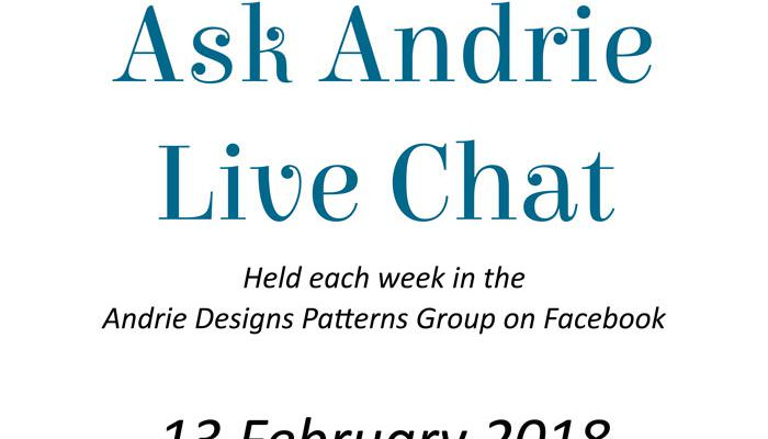 Ask Andrie Live Chat – 13 February 2018