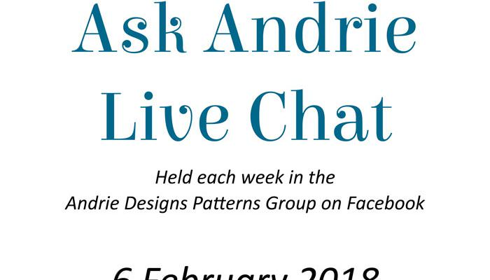 Ask Andrie Live Chat – 6 February 2018