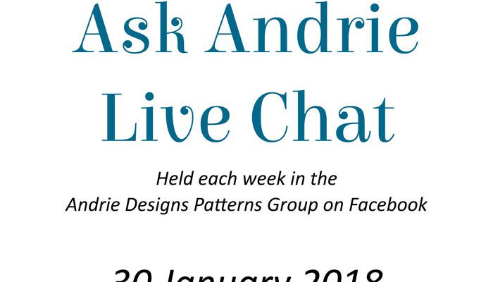 Ask Andrie Live Chat – 30 January 2018