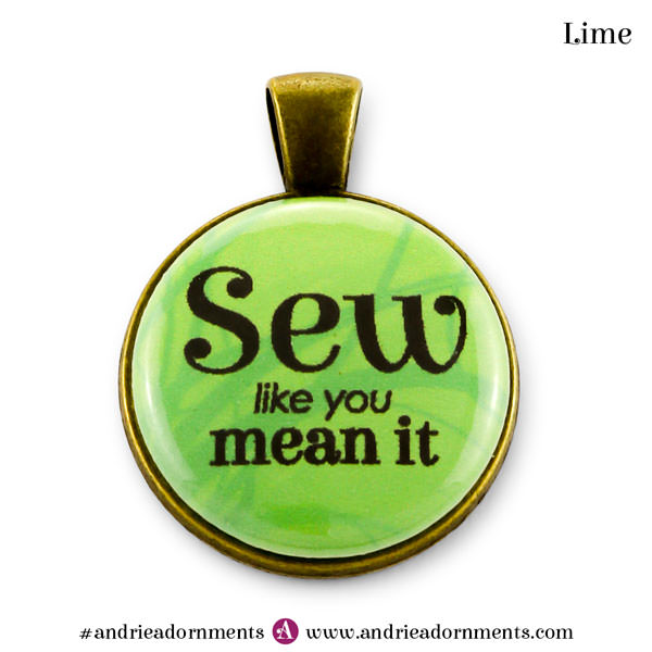 Lime on Antique Brass - Andrie Adornments