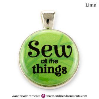 Lime on Silver - Andrie Adornments