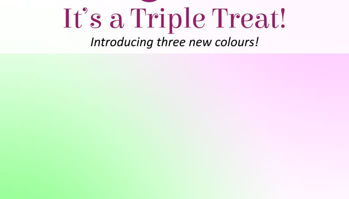 It's a Triple Treat!