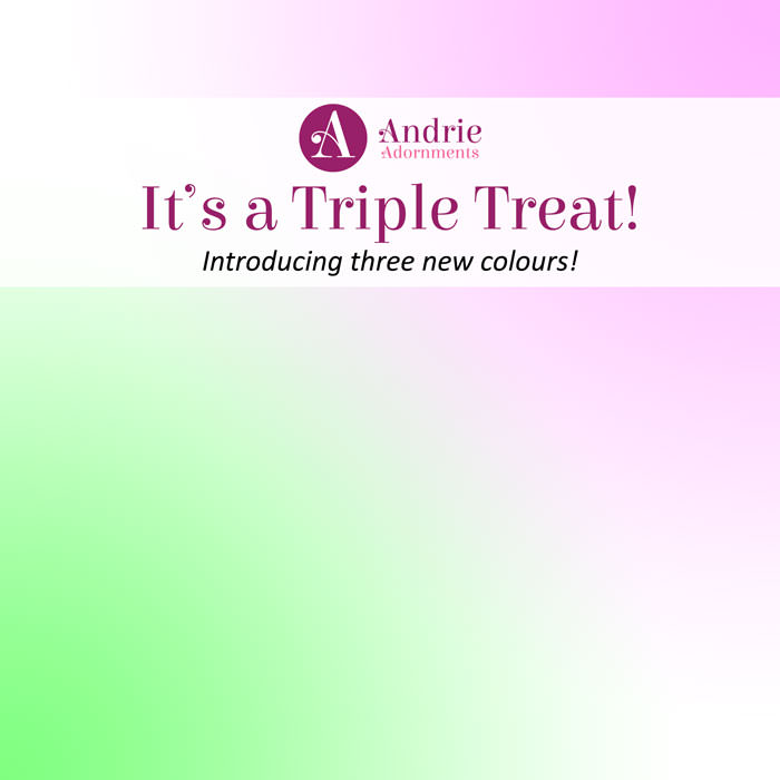 It's a Triple Treat - Andrie Adornments