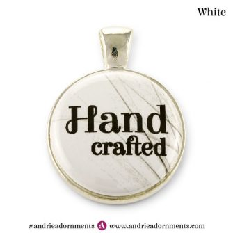 White on Silver - Andrie Adornments