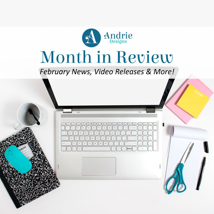 Andrie Designs Month in Review February 2018