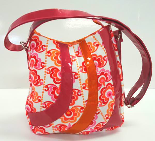Meet the Maker - Handmade by JoeJoe - Andrie Designs - Shades of Yesterday Tote Bag