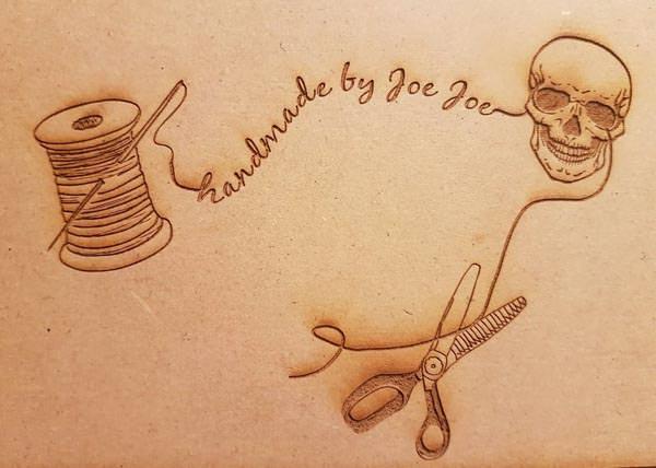 Meet the Maker - Handmade by JoeJoe - Andrie Designs - Logo