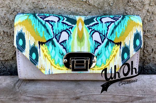 Meet the Maker - UhOh Creations - Necessary Clutch Wallet