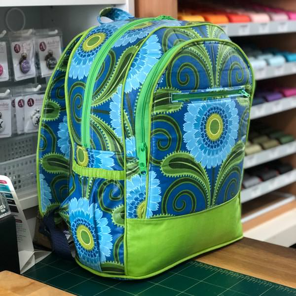 Adventure Time Backpack Class - Jacqui's Odicoat backpack