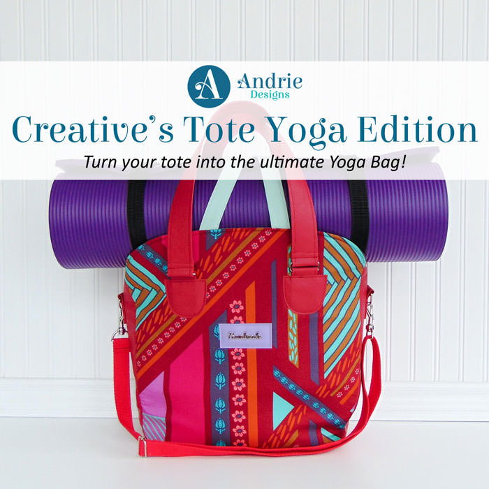 Creative's Tote Yoga Edition - Andrie Designs - feature