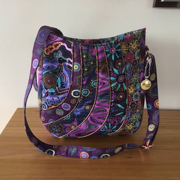 Customer Creations April- Andrie Designs - Jacqui - Shades of Yesterday Tote Bag