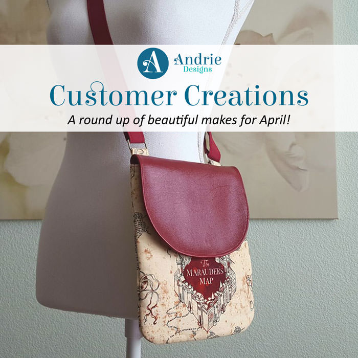 Customer Creations - April - Andrie Designs