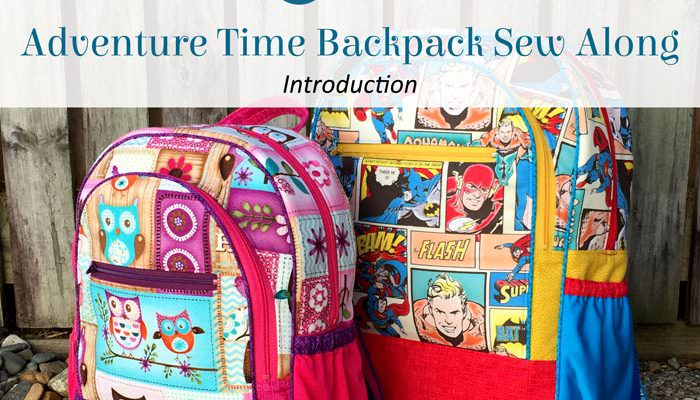 Adventure Time Backpack Sew Along: Introduction