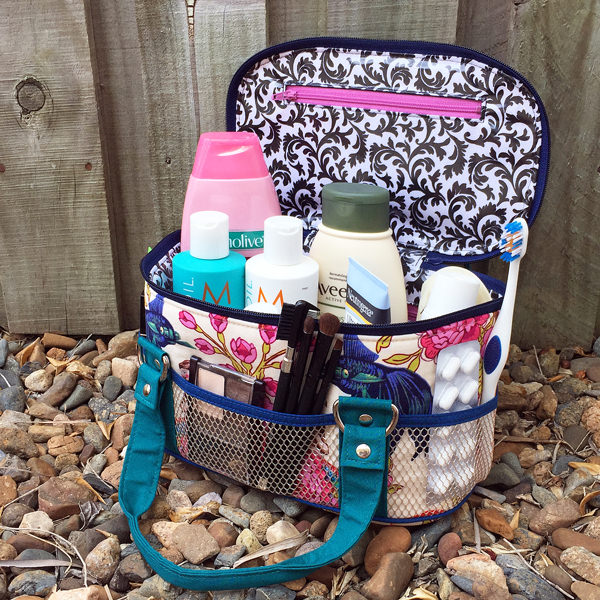 All loaded up! Bree's Box Toiletry Caddy - Andrie Designs