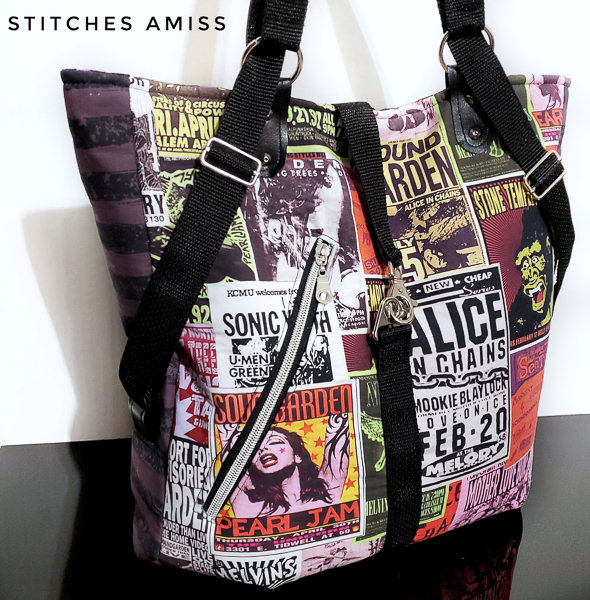 Meet the Maker - Stitches Amiss rocker bag
