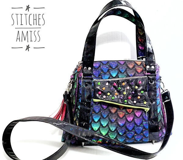 Meet the Maker - Stitches Amiss scales bag