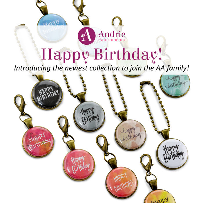 Happy Birthday Collection - Andrie Adornments