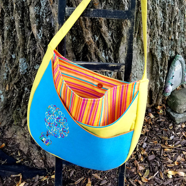 Up movie-inspired S & S Tote - Andrie Designs