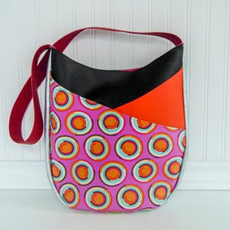 Bright and funky S & S Tote - Andrie Designs