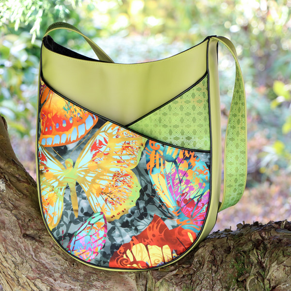 Citrus all the way for this S & S Tote - Andrie Designs