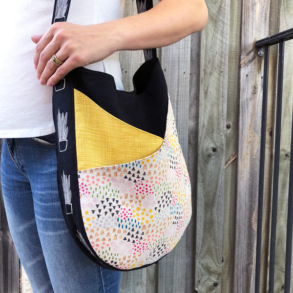 S & S Tote - tall style, small size - Andrie Designs