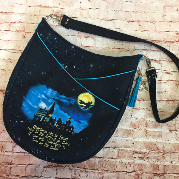 How magical is this Harry Potter-themed S & S Tote - Andrie Designs