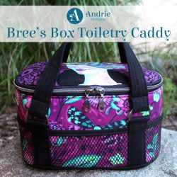 Bree's Box Toiletry Caddy - Andrie Designs