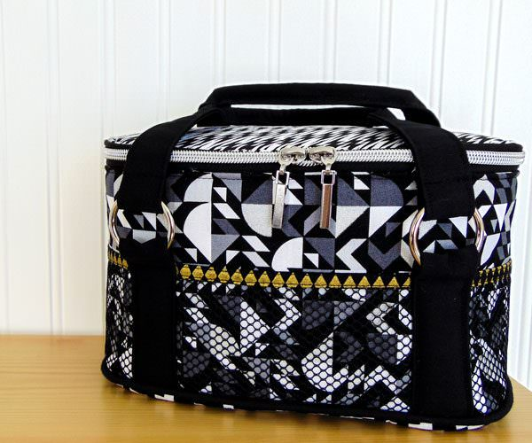 It's black and gold for this Bree's Box Toiletry Caddy! - Andrie Designs