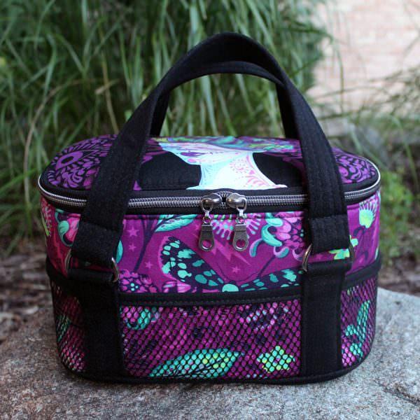 Tula Pink De La Luna Bree's Box Toiletry Caddy! - Andrie Designs