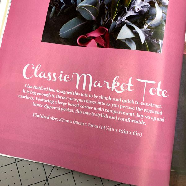 Hello Classic Market Tote! - Andrie Designs