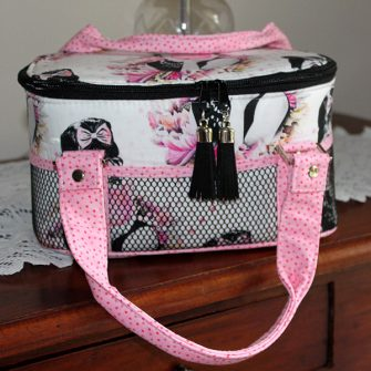 Hello Ms. Hepburn! Bree's Box Toiletry Caddy - Andrie Designs