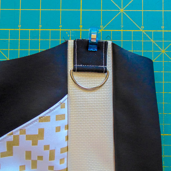 Step 3 a - S and S Tote - Adjustable Strap - Andrie Designs