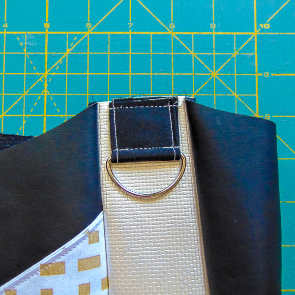 Step 3 b - S and S Tote - Adjustable Strap - Andrie Designs