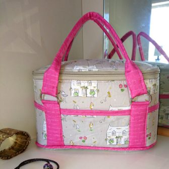 Little Chick and Little House Bree's Box Toiletry Caddy! - Andrie Designs