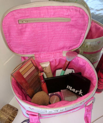 Inside the Little Chick and Little House Bree's Box Toiletry Caddy - Andrie Designs