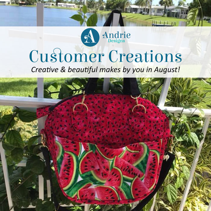 Customer Creations - August 2018 - Andrie Designs