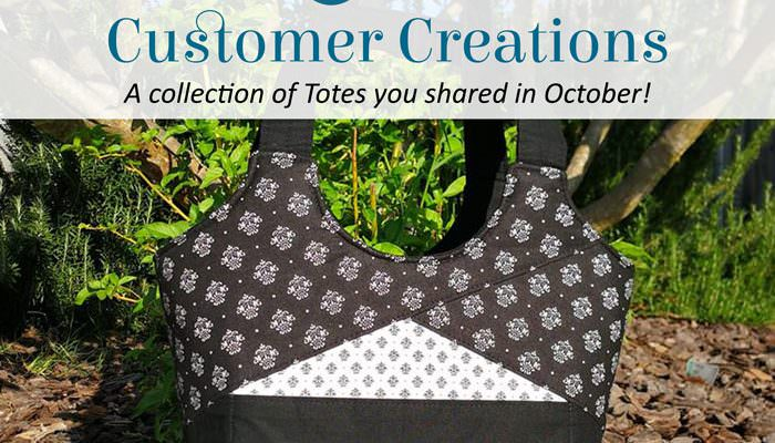 Customer Creations – October 2018