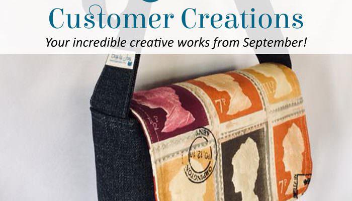 Customer Creations – September 2018