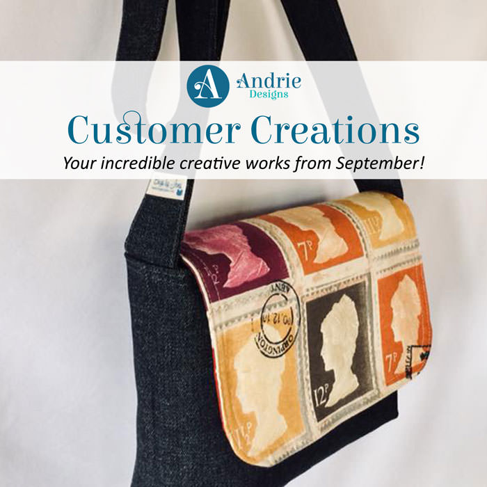 Customer Creations - September 2018 - Andrie Designs