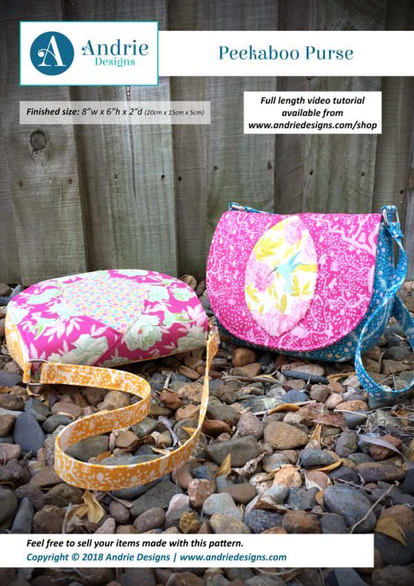 Peekaboo Purse - Andrie Designs