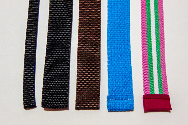 Strap Webbing Ends 1 Stitching - Sewing Difficult and Unique Fabrics Part 2
