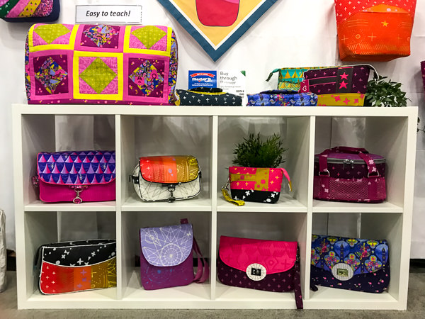 Alison Glass Fabrics in Clutches - Andrie Designs